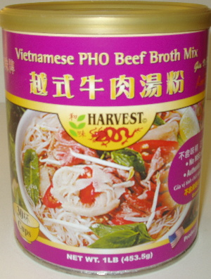 Harvest 2000 Vietnamese Pho Beef  Broth Mix