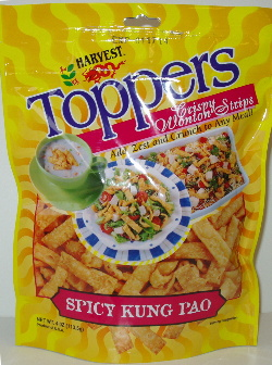 wonton salad topper-spicy kung pao