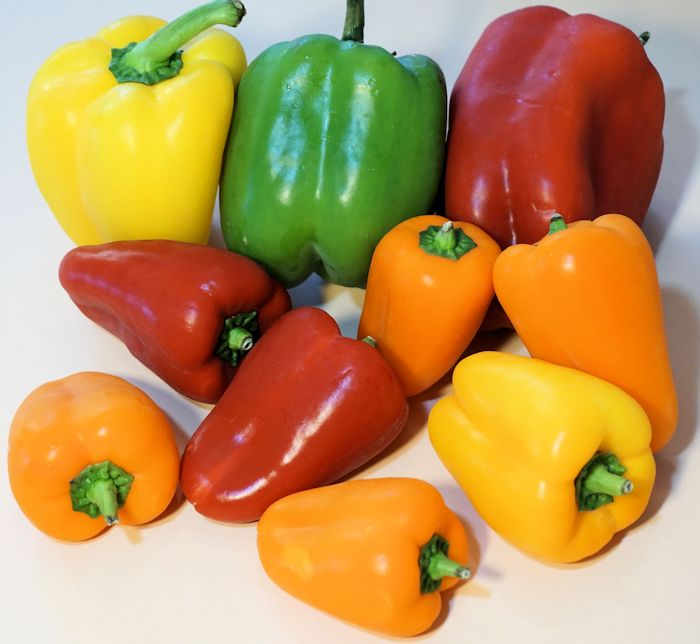 Bell Peppers nutrition